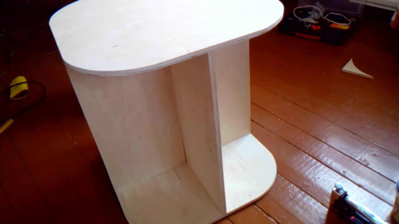 Сделать столик из фанеры своими руками 88