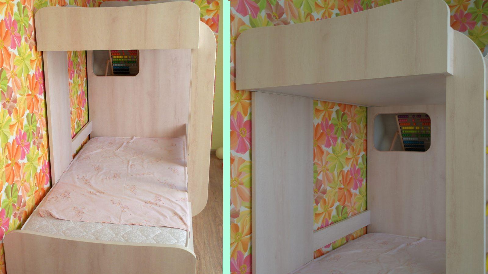 Двухъярусная детская кровать 13