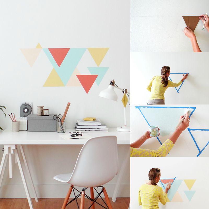 8 идей для декора однотонной стены