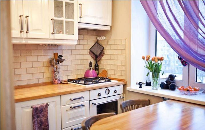Интерьер в кухни в хрущевке фото