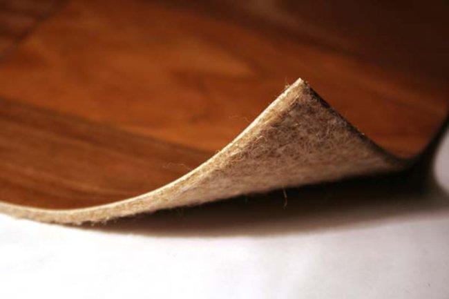 Алкидный линолеум на войлочной основе