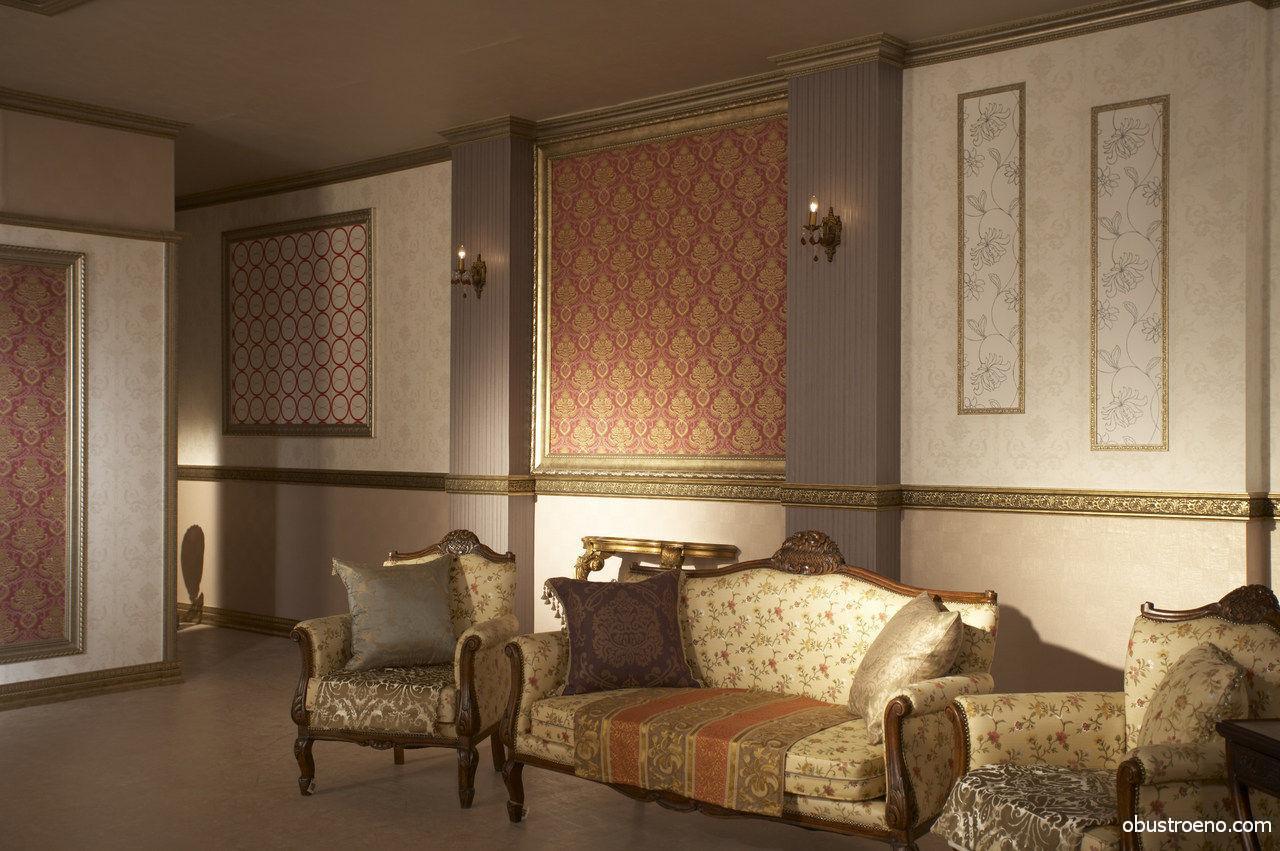 Использование различных видов декоративного плинтуса в отделке интерьера.