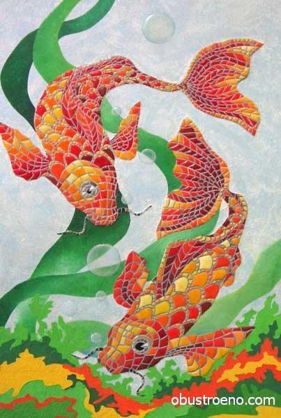 Мозаика из линолеума