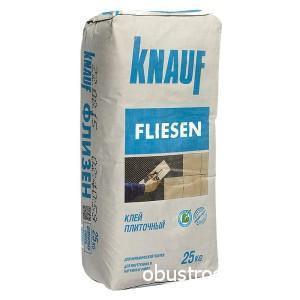 Плиточный клей от немецкого производителя Knauf