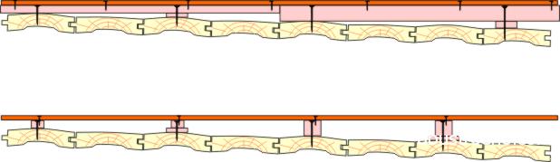 Схема укладки плит на лаги
