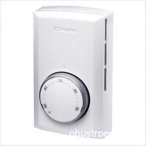 Терморегулятор DimplexTS 521W очень часто используется именно с плинтусными системами отопления и зарекомендовал себя с самой лучшей стороны благодаря простоте и надежности, стоимость этого варианта составляет 2300-2500 рублей
