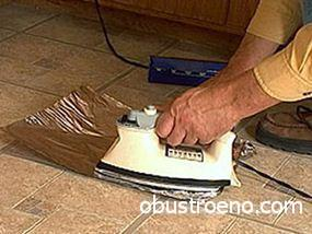 Выравнивание полотна методом нагрева