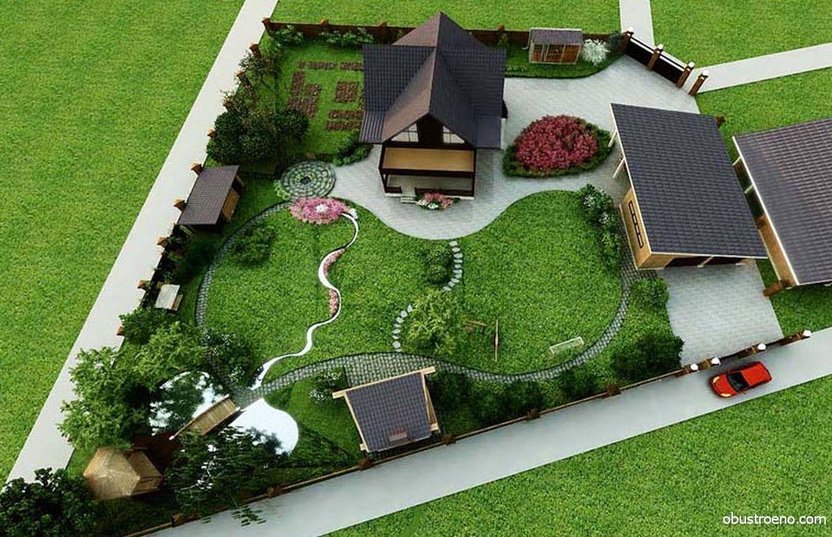 Дизайн ландшафтный дешево