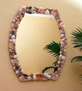 Быстро и легко можно преобразить обычное зеркало