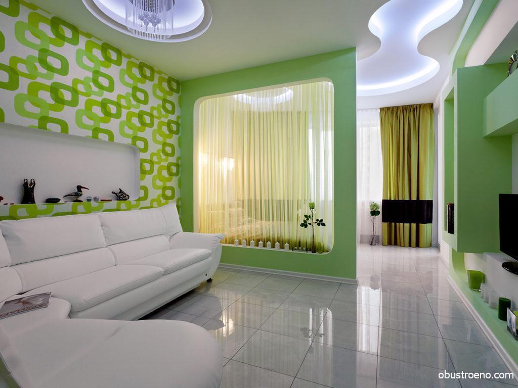 Декоративную перегородку можно вписать в интерьер так умело, что без нее комната уже будет выглядеть скучно и обыденно