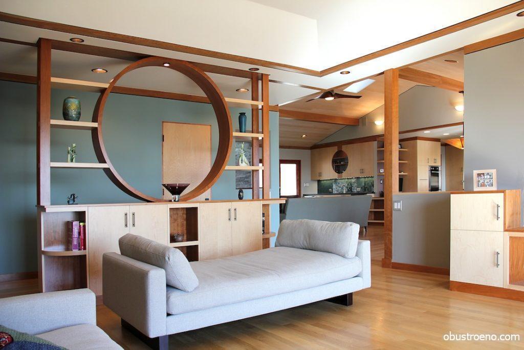 Декоративные элементы из дерева могут быть открытыми, закрытыми и комбинированными