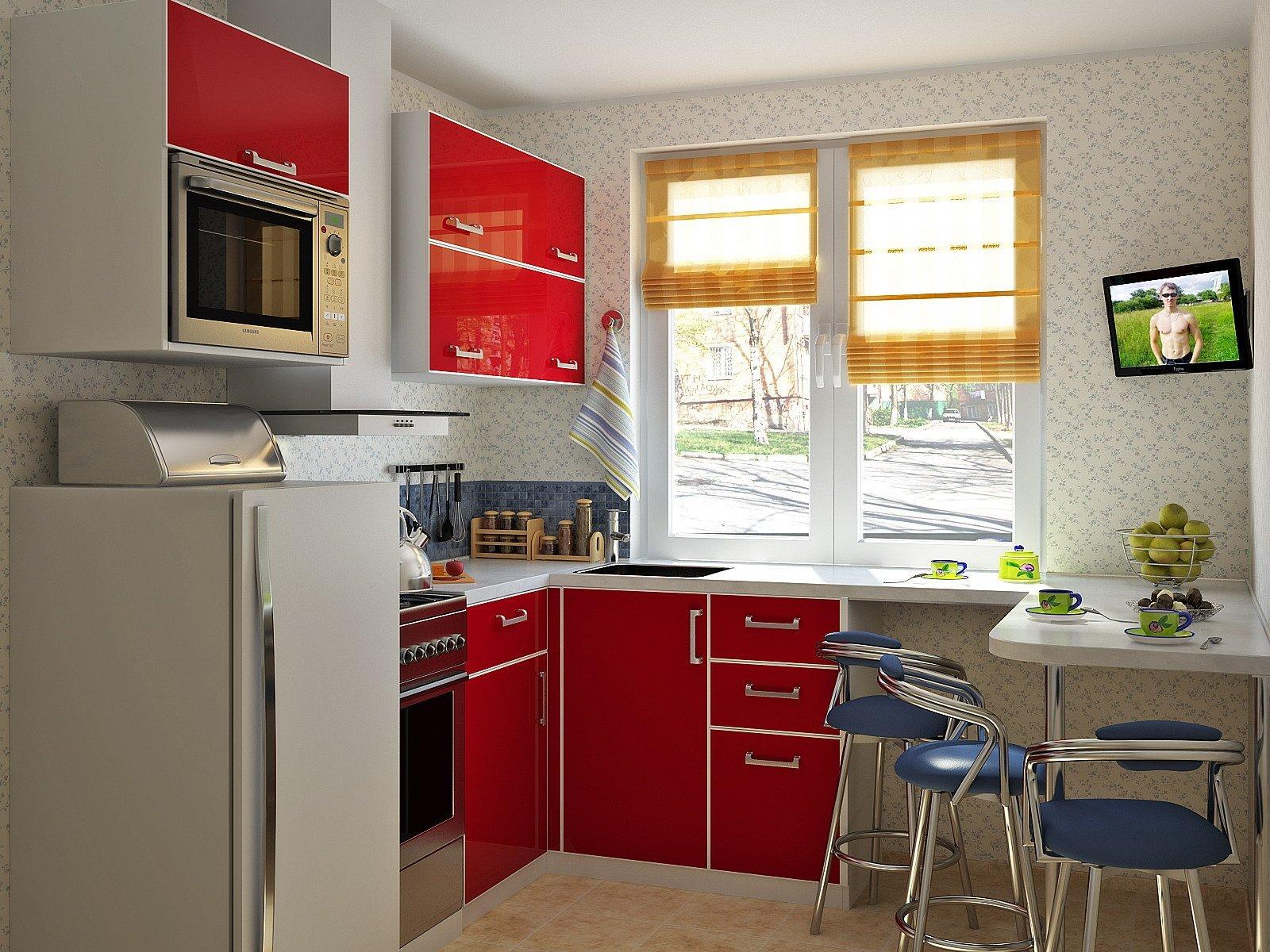 Кухня 5 кв.метров дизайн