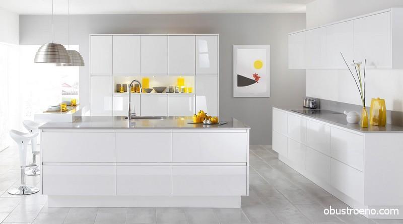Дизайнерская кухня Studio Iosa Ghini – тандем точной геометрии и чистого цвета
