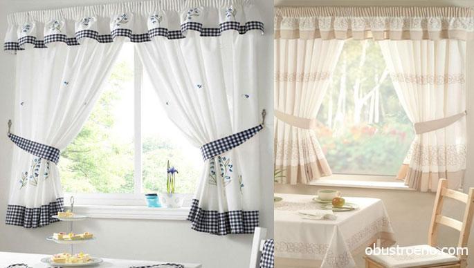 Еще одно удобное решение – недлинные шторы c зажимами. Такие можно найти в коллекциях брендов Релатекс, Victoria Home, Haft, Kinga. Цена варьируется от 2000 до 2600 рублей.