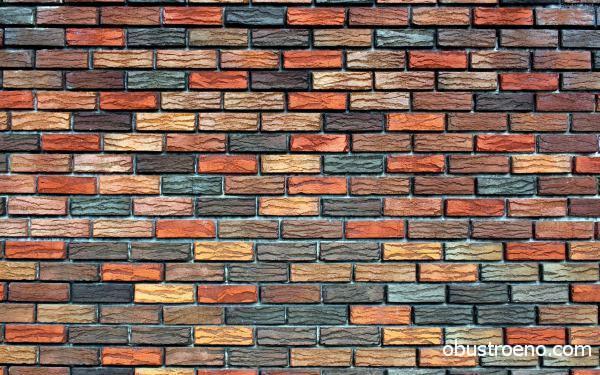 Это фото фрагмента стены, оклеенной обоями. Они изначально имеют такую расцветку, что упрощает рабочий процесс еще больше