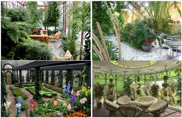 Хотите иметь место райского наслаждения – создайте зимний сад