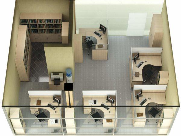 Интерьер современного офиса должен быть тщательно продуман