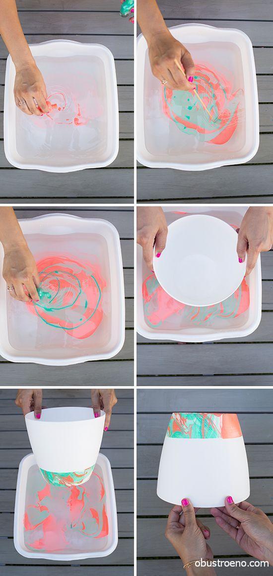 Использовались водостойкие акриловые краски