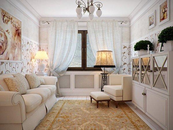 Использование ковров характерно для стиля.