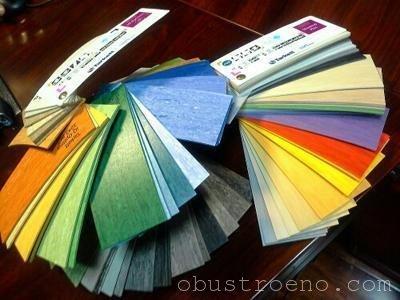 Каждый производитель предлагает определенный ассортимент расцветок, вам нужно просто выбрать подходящую