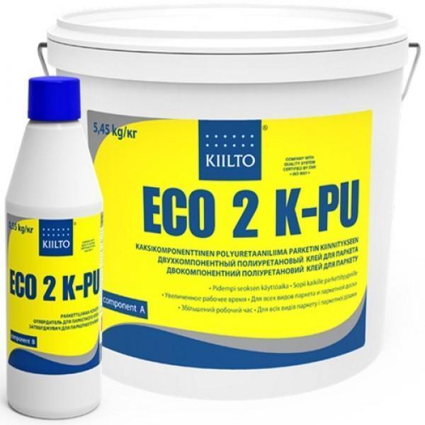 На фото - двухкомпонентный состав KIILTO ECO 2KPU