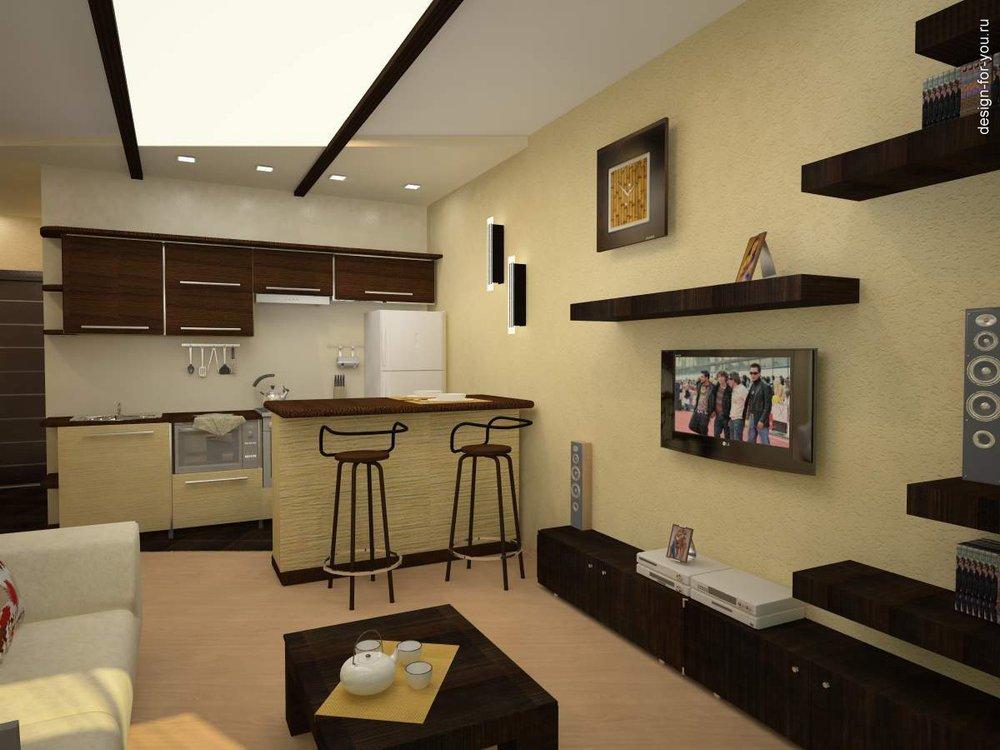 Дизайн квартиры студии видео