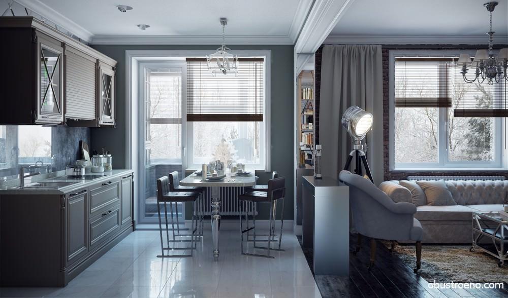 Американские интерьеры квартир и домов: современный и классический стиль