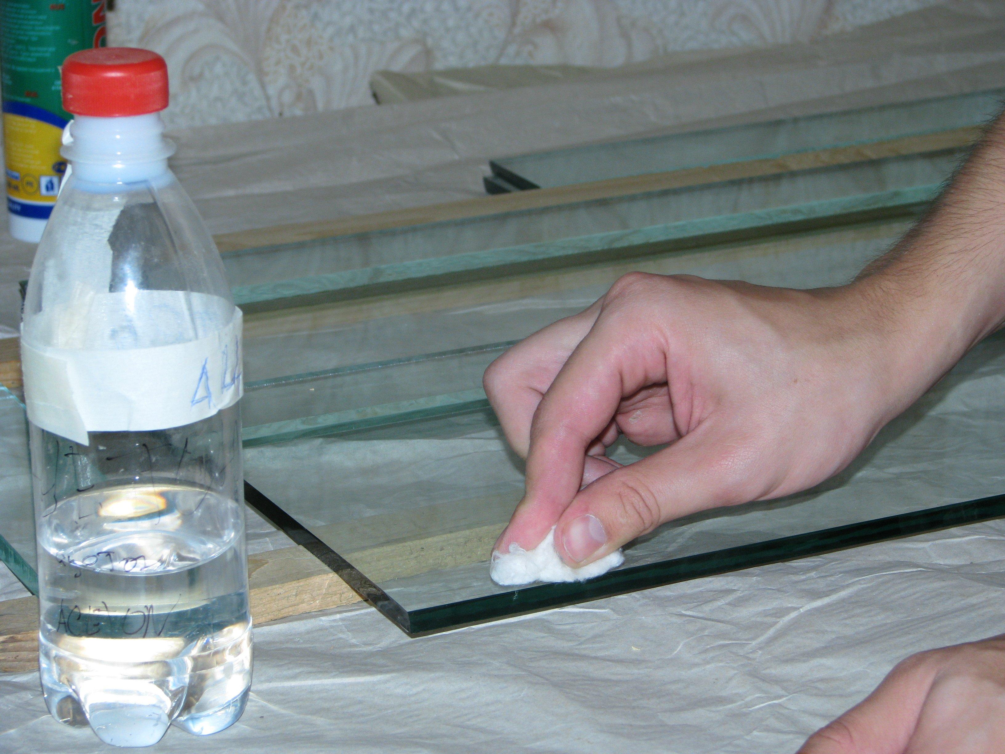 Как сделать стекло своими руками
