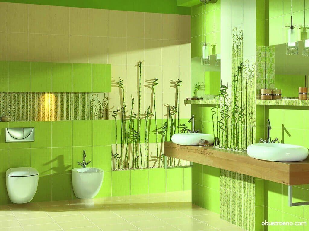 Очень сочный зеленый цвет