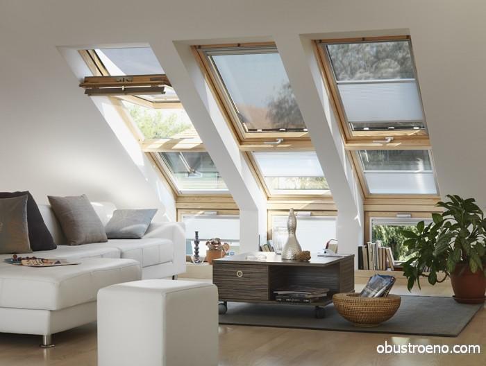 Окна создают особое натуральное освещение, которого трудно добиться при помощи светильников