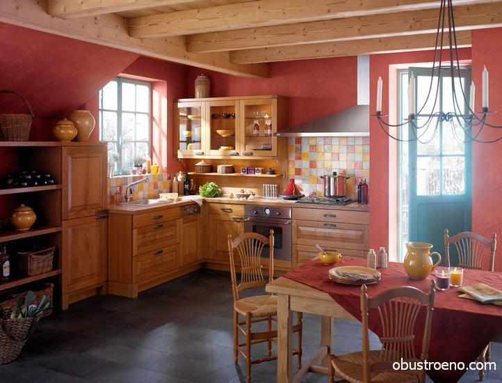 Дизайн кухни в деревенском стиле своими руками фото