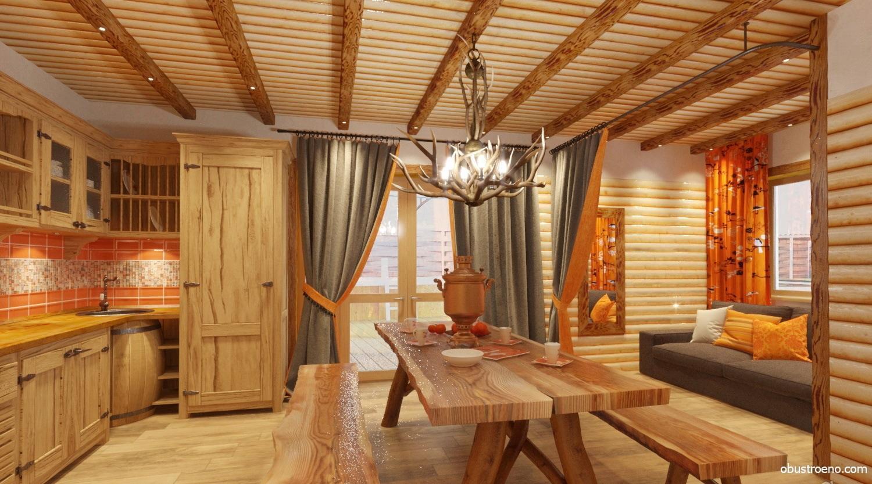 проекты и дизайн бань в доме
