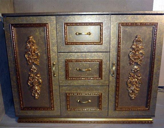 Декор для мебели своими руками, обзор материалов