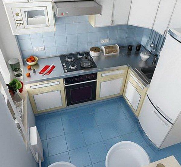 Дизайн кухни 3 кв метров фото