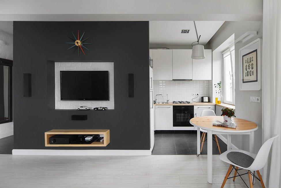 Дизайн однокомнатной квартиры х