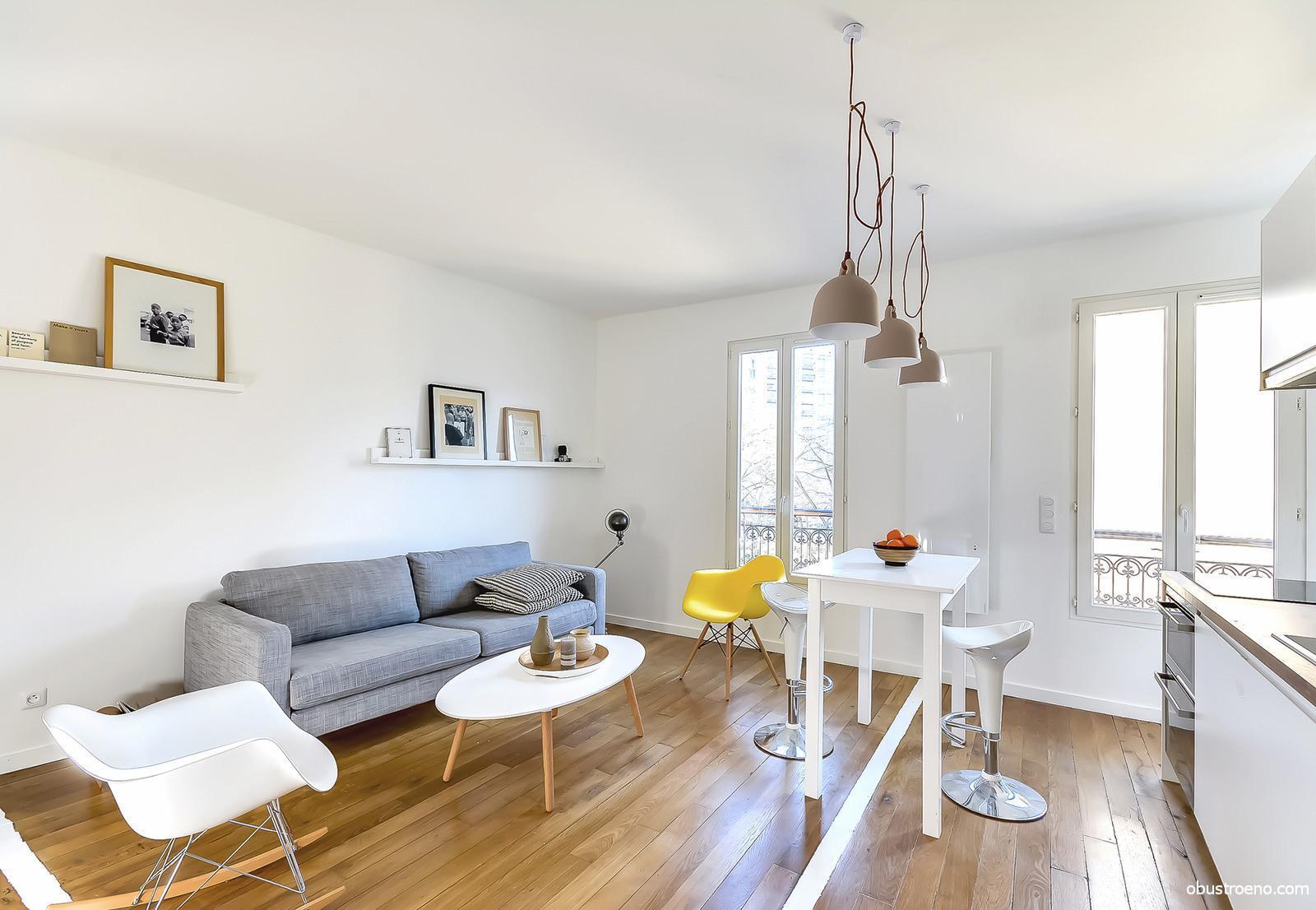 Аренда квартиры студии в париже