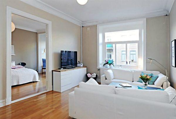 Идеи интерьера двухкомнатной квартиры фото