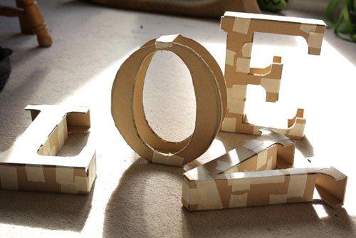 Буквы в интерьере: декоративные интерьерные изделия, особенности применения Obustroeno.Com