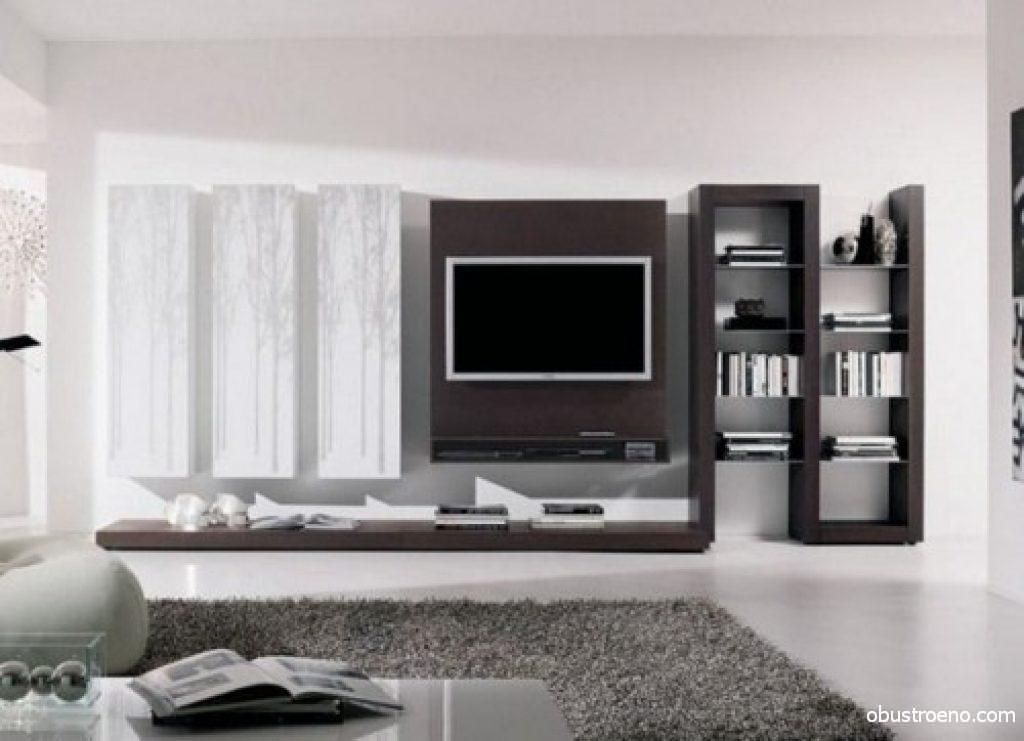 ТВ панель в интерьере