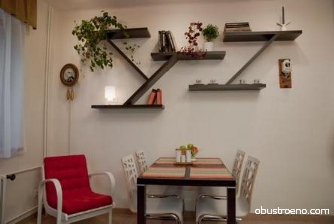 Как сделать полку на стену в кухню своими руками