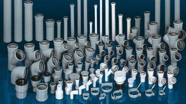 Ассортимент фитингов для пластикового трубопровода