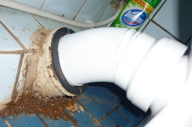 Обратный клапан канализации  Добродушный Сантехник