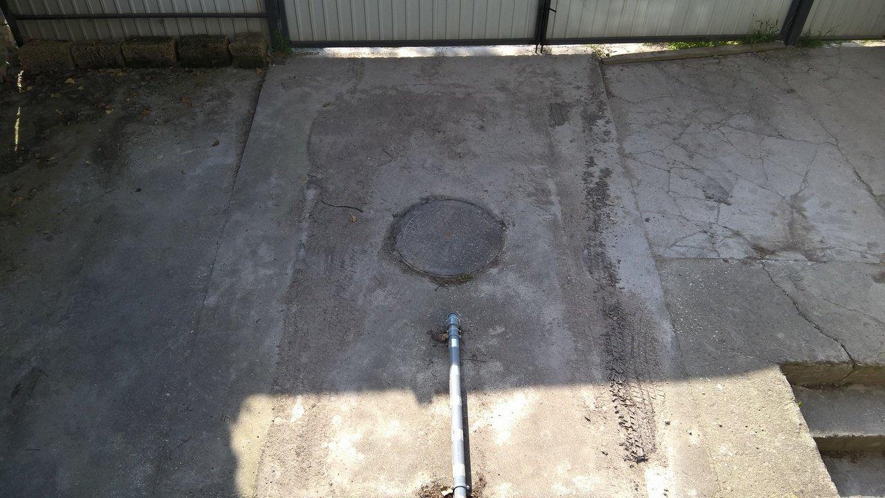 схема рытья ямы под септик танк 2