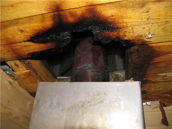 Чтобы этого не происходило, дымоход необходимо герметизировать специальным средством.