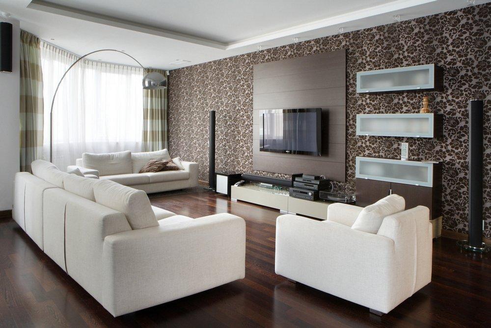Интерьер однокомнатной квартиры 38 кв м - угловой гарнитур интерьер кухни