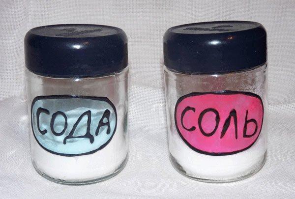 Для профилактической промывки можно обойтись содой и солью