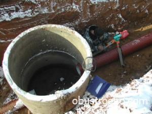 Фото смотрового канализационного колодца