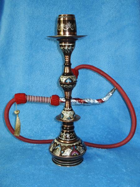 Израильский наргиле, выполненный по традиционной технологии.