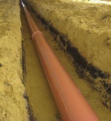 Качественная основа обеспечивает стабильность положения труб