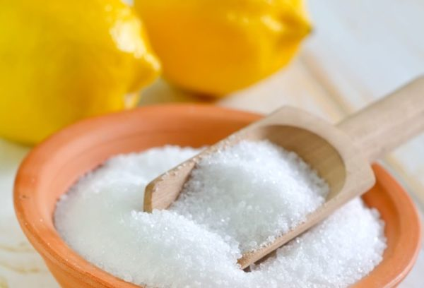Кристаллическая лимонная кислота может заменить уксус